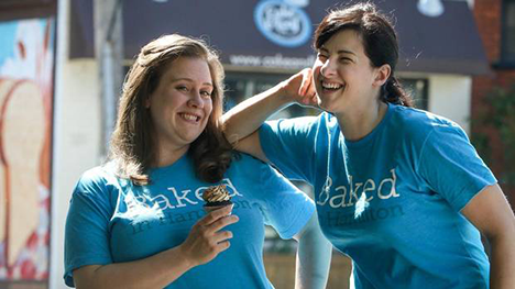 Josie Rudderham and Nicole Miller of Cake and Loaf Bakery